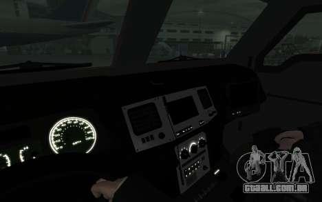 International 4000-Series SWAT Van para GTA 4 traseira esquerda vista