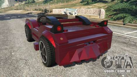 LEGO Car para GTA 5