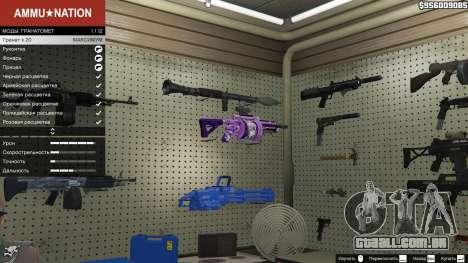 Anime lançador de granadas para GTA 5