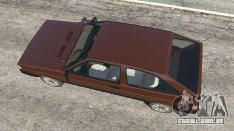 GTA 5 Volkswagen Gol GL 1.8 voltar vista