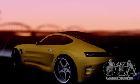 Mercedes-Benz AMG GT para GTA San Andreas vista direita