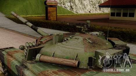 PT-91A Twardy para GTA San Andreas vista direita