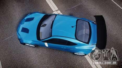 Subaru BRZ Rocket Bunny para GTA 4 vista direita