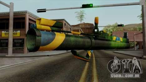 Brasileiro Heatseek v2 para GTA San Andreas segunda tela