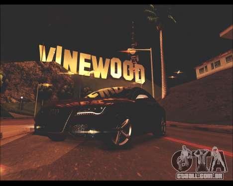 REXAS ENB v1 para GTA San Andreas segunda tela