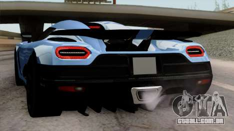Koenigsegg Agera R 2014 Carbon Wheels para as rodas de GTA San Andreas