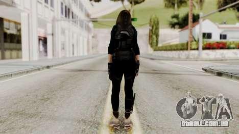 Christy Battle Suit 2 (Resident Evil) para GTA San Andreas terceira tela