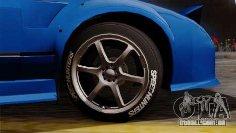 Nissan 180SX Street para GTA San Andreas traseira esquerda vista