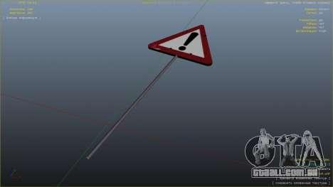 GTA 5 Sinal de estrada sétima screenshot