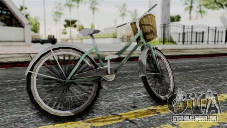 Olad Bike from Bully para GTA San Andreas esquerda vista