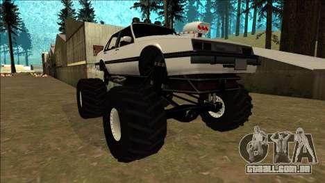 Willard Monster para GTA San Andreas