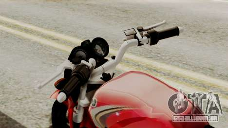 Yamaha YBR Imitacion para GTA San Andreas vista direita