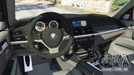 GTA 5 BMW X5 M (E70) 2013 v1.01 frente vista lateral direita