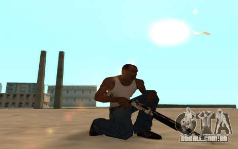 Asiimov Weapon Pack v2 para GTA San Andreas sexta tela