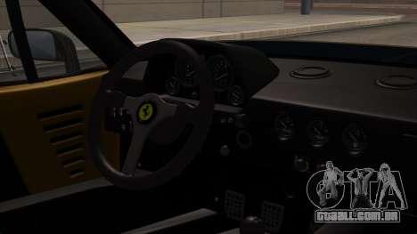 Ferrari F40 1987 HQLM para GTA San Andreas vista direita