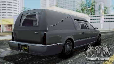 GTA 5 Albany Romero IVF para GTA San Andreas esquerda vista