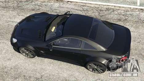Mercedes-Benz SL 65 AMG Black Series para GTA 5