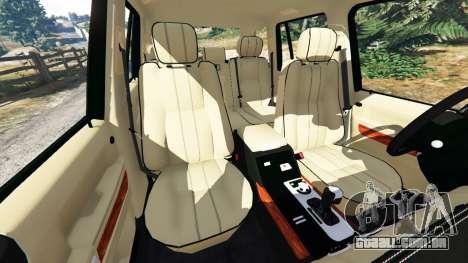 GTA 5 Range Rover Supercharged volante