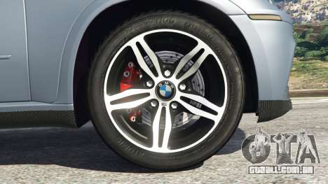 GTA 5 BMW X5 M (E70) 2013 v1.01 traseira direita vista lateral