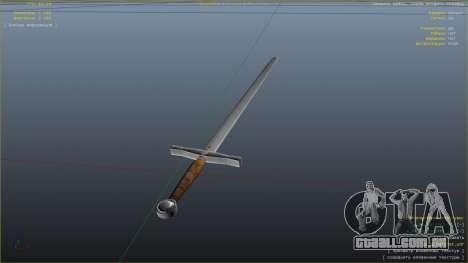 GTA 5 Espada Excalibur sexta imagem de tela