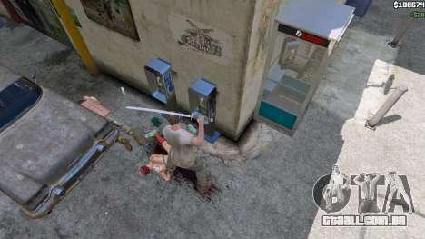 GTA 5 Katana quinta imagem de tela