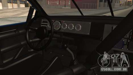Chevrolet Lumina NASCAR 1992 para GTA San Andreas vista direita