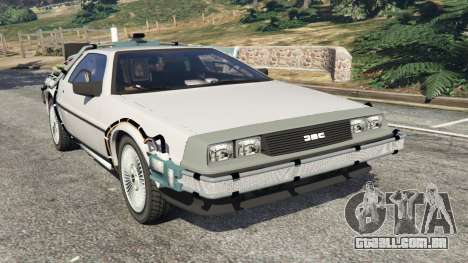 DeLorean DMC-12 Back To The Future v0.3 para GTA 5