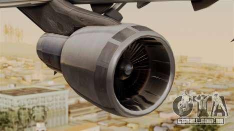 Boeing 747 MasKargo para GTA San Andreas vista direita