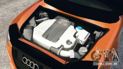 GTA 5 Audi S4 vista lateral direita