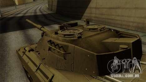 Leopard 1A5 para GTA San Andreas vista direita