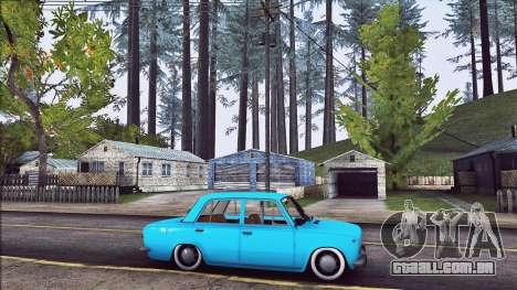 VAZ 2101 Resto para GTA San Andreas esquerda vista