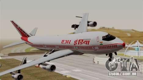 Boeing 747-200 Air India VT-ECG para GTA San Andreas