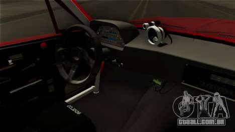 Ford Mustang Fastback para GTA San Andreas vista traseira