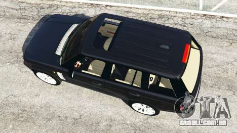 GTA 5 Range Rover Supercharged voltar vista