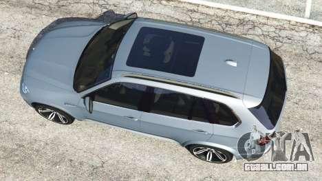 GTA 5 BMW X5 M (E70) 2013 v1.01 voltar vista