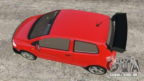 GTA 5 Volkswagen Fox v1.1 voltar vista