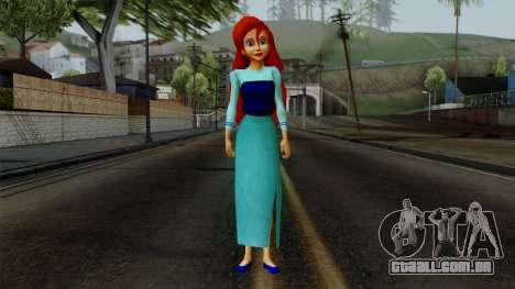 Ariel (Human Version) para GTA San Andreas segunda tela