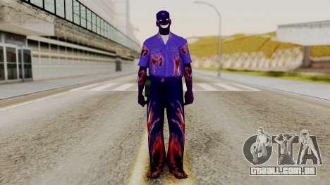 FNAF Purple Guy para GTA San Andreas segunda tela