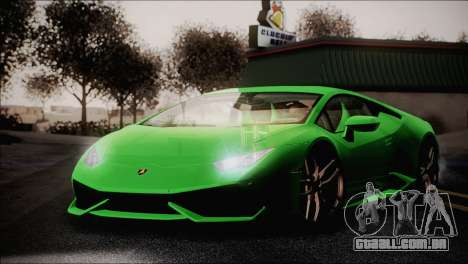 TASTY ENBSeries 0.248 para GTA San Andreas segunda tela