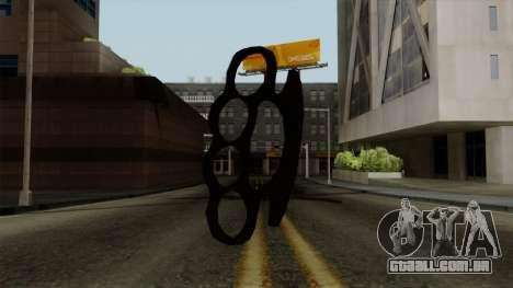 Novo soqueiras para GTA San Andreas segunda tela