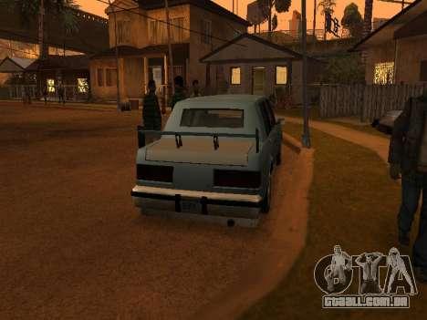 New Greenwood para GTA San Andreas vista direita