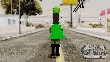 Gumi Love Is War (Vocaloid) para GTA San Andreas terceira tela