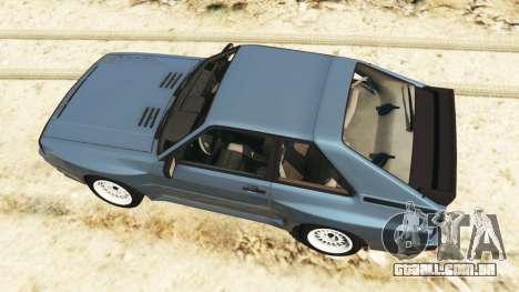 GTA 5 Audi Sport quattro v1.1 voltar vista