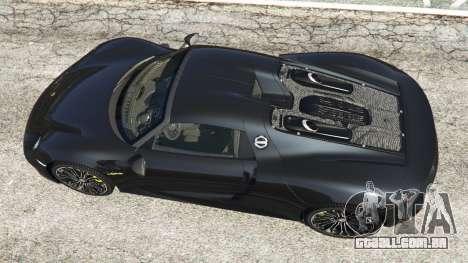 GTA 5 Porsche 918 Spyder 2014 [HD] voltar vista