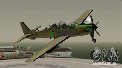 EMB-314 Super Tucano Factory USA para GTA San Andreas