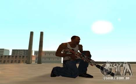 Asiimov Weapon Pack v2 para GTA San Andreas