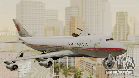 Boeing 747-100 National Airlines para GTA San Andreas