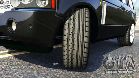 GTA 5 Range Rover Supercharged vista lateral direita