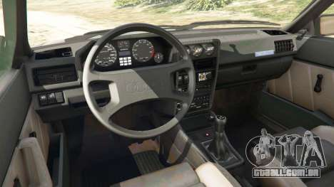 GTA 5 Audi Sport quattro v1.1 vista lateral direita