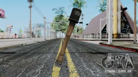German Grenade from Battlefield 1942 para GTA San Andreas